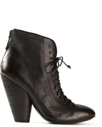Marsèll Chunky Heel Lace Up Boots