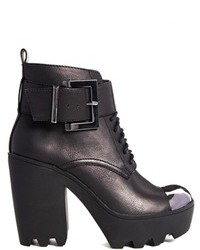 Asos End Of Time Ankle Boots Black