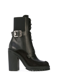Givenchy High Heel Combat Boots