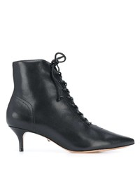 Schutz Lace Up Ankle Booties