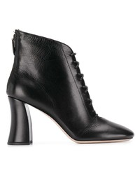 Miu Miu Lace Up Ankle Boots
