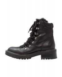 s.Oliver Lace Up Boots Black