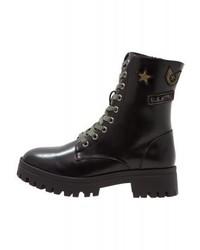 Mtng Platform Boots Black