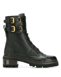 See by Chloe See By Chlo Buckled Ankle Boots