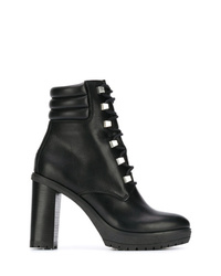 Tommy Hilfiger Studded Lace Up Boots