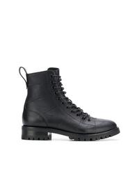 Jimmy Choo Cruz Flat Combat Boots