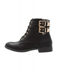 Lace up boots black medium 4108477