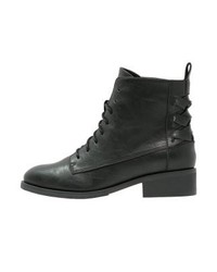 Lace up boots black medium 4108506