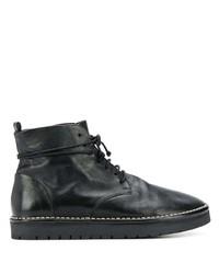 Marsèll Lace Up Ridged Heel Boots