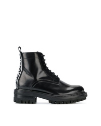 Dsquared2 Logo Tab Leather Boots