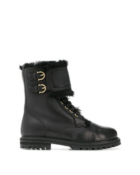 Salvatore Ferragamo Military Boots