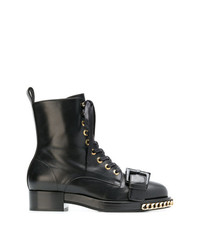 N°21 N21 Chain Trimmed Boots