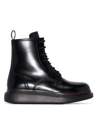 Alexander McQueen Platform Ankle Boots