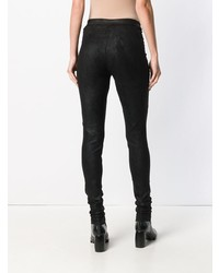 Isabel Benenato Leather Leggings