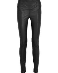 Tom Ford Stretch Leather Leggings Black