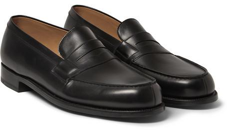 nouveau produit 8a4a0 d2a77 £608, Jm Weston 180 The Moccasin Leather Loafers