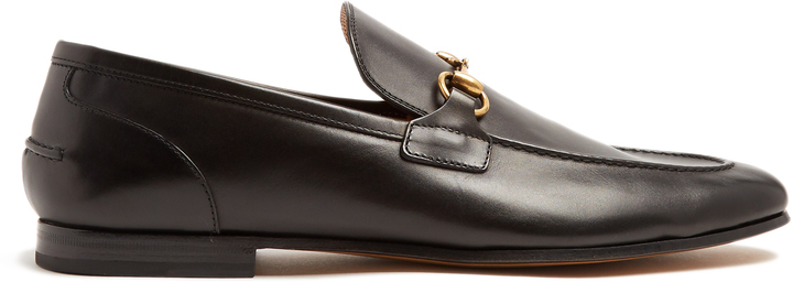 f3fde49c388b Jordaan Leather Loafers. Black Leather Loafers by Gucci