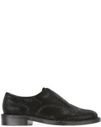 Robert Clergerie Textured Brogue Loafers