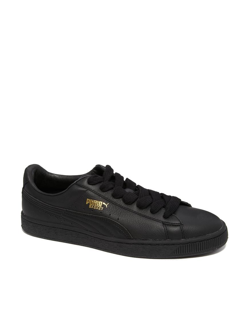 online retailer d8c62 dc5ac Basket Leather Sneakers