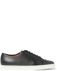 John Lobb Levah Full Grain Leather Sneakers