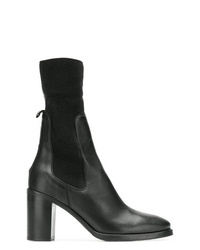Tommy Hilfiger Elasticated Mid Calf Boots