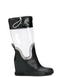 Casadei Glass Rain Boots