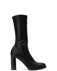 Stella McCartney Mid Calf Block Heel Boots