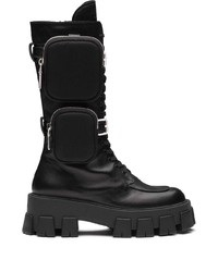 Prada Monolith Chunky Boots