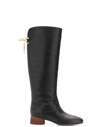 See by Chloe See By Chlo Back Bow Fastened Boots