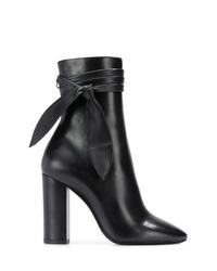 Saint Laurent Wrap Around Boots