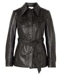 3.1 Phillip Lim Belted Leather Jacket