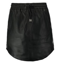 Pril leather skirt black medium 3934306
