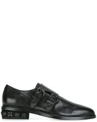 Toga Virilis Buckled Monk Shoes