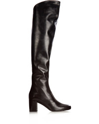 Saint Laurent Babies Over The Knee Leather Boots