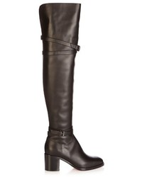 Karialta 70mm over the knee leather boots medium 718230