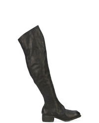 Guidi Over The Knee Flat Boot