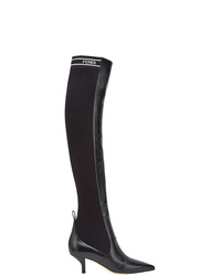 Fendi Rockoko Thigh High Boots