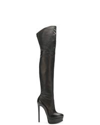 Casadei Stiletto Thigh Length Boots
