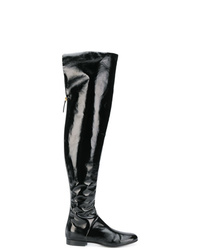 Alberta Ferretti Thigh High Boots