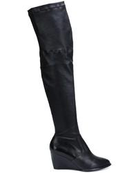 Robert Clergerie Thigh High Wedge Boots