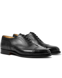 Tricker's Trenton Cap Toe Leather Oxford Brogues