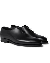J.M. Weston Whole Cut Leather Oxford Shoes