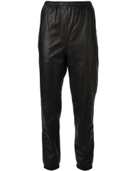 3.1 Phillip Lim Leather Sweatpants