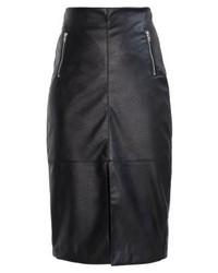 Christa leather skirt black medium 5271308