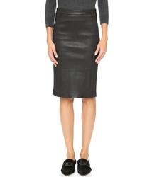 J Brand Estelle Leather Skirt