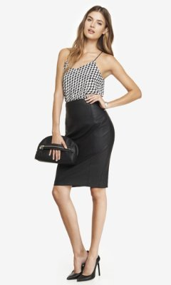 Top Skirt Leather