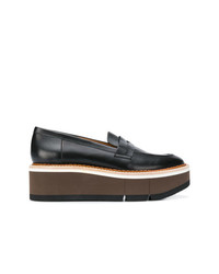 Clergerie Chunky Mid Heel Loafers