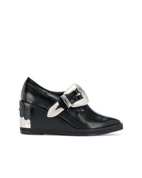 Toga Pulla Ornate Wedge Loafers