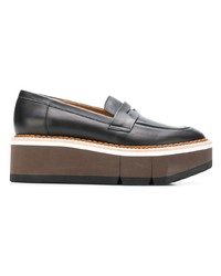 Clergerie Platform Penny Loafers
