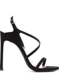 Stuart Weitzman Buckled High Heels Sandals